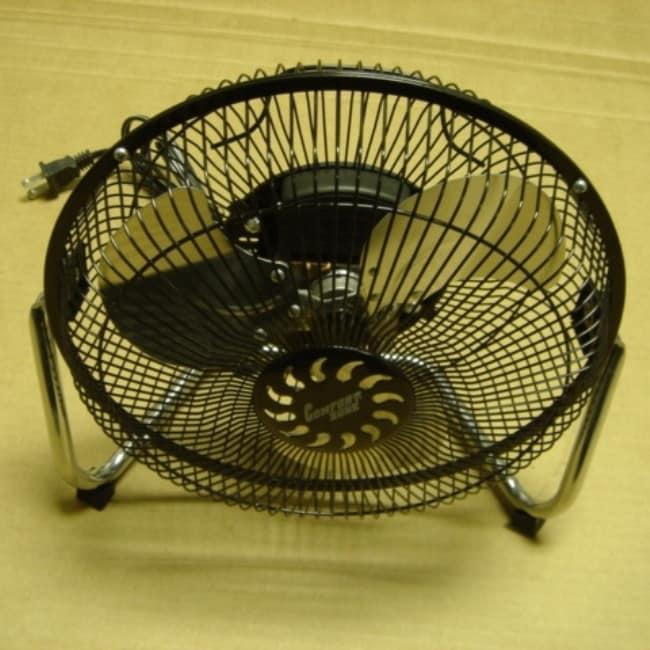 Comfort Zone 9-inch High Velocity Cradle Fan