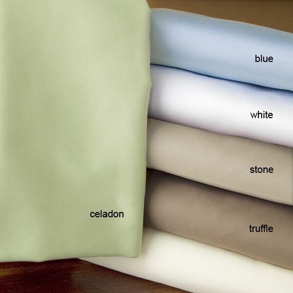 Egyptian Cotton 400 Thread Count Sateen Sheet Set - Thumbnail 1