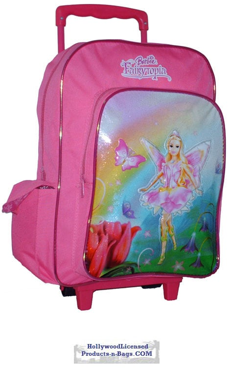 Barbie Large Wheeled Backpack - Thumbnail 1