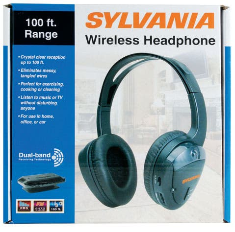 8d61d473af1 Shop Sylvania SYL-WH930GB Wireless Headphones Set - Free Shipping On ...