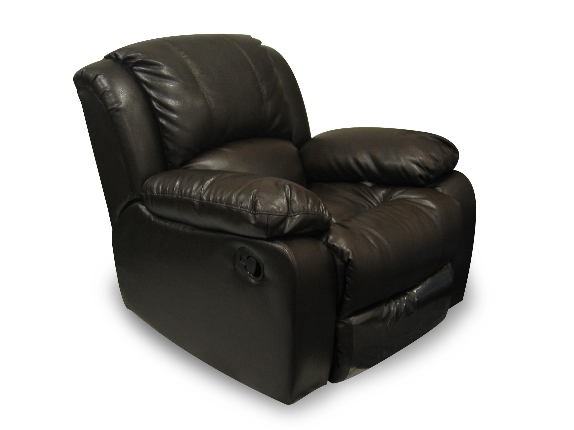 Thumbnail 2, Bridgeport Bonded Leather 'Motion' Recliner Chair. Changes active main hero.