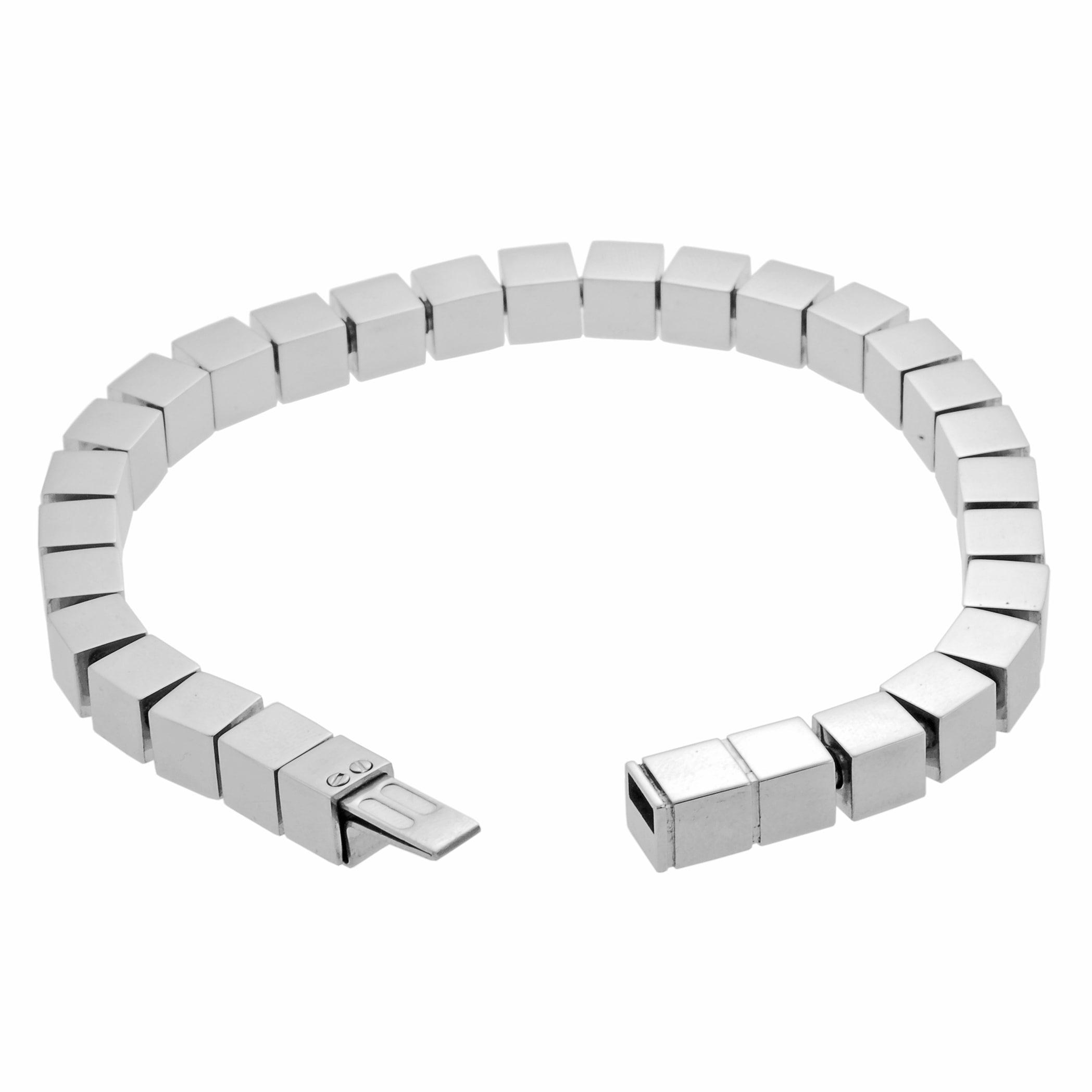 Surgical Steel Square Bracelet - Thumbnail 1