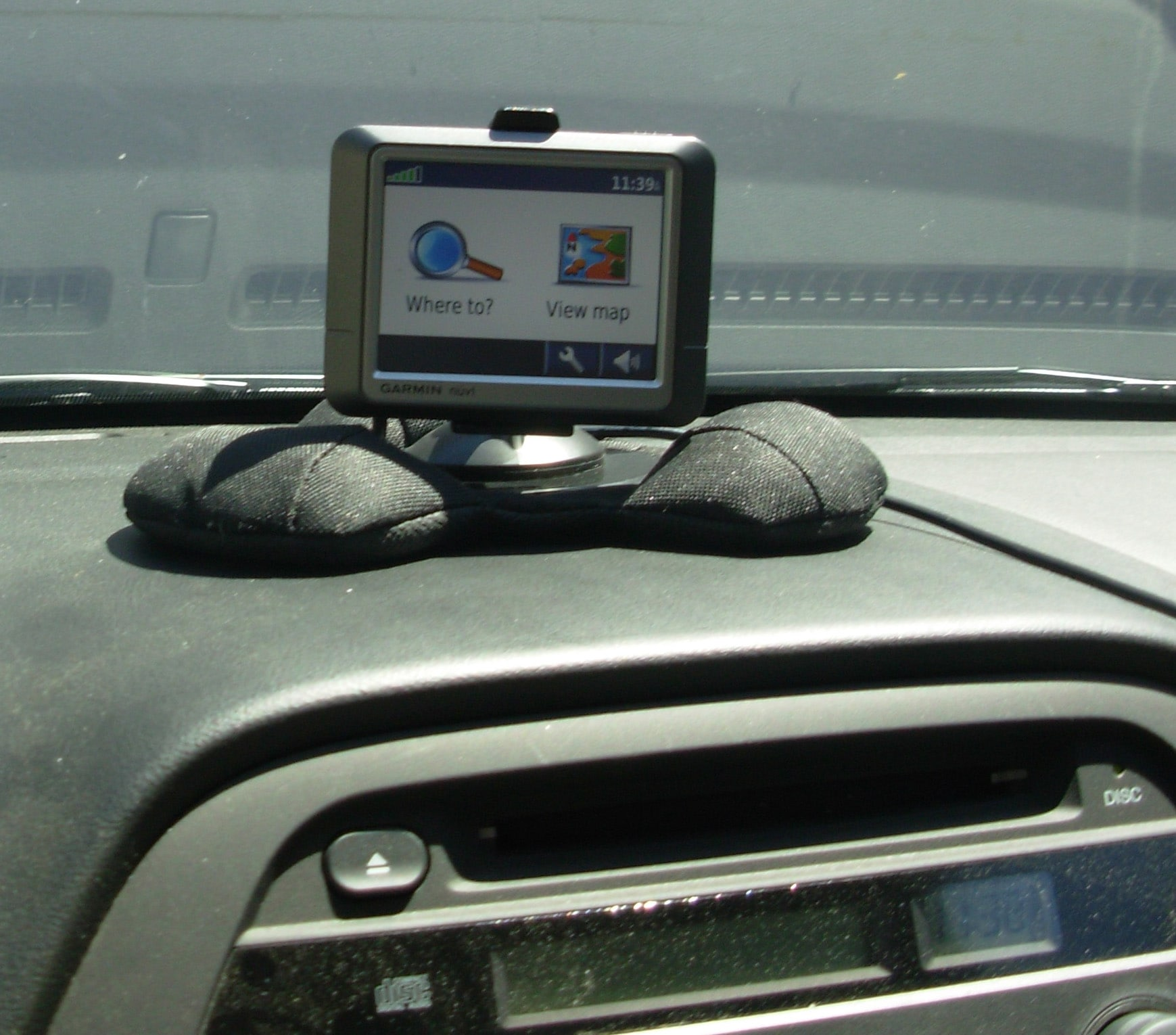 Universal Gps Dashboard Bean Bag Car Mount Free Shipping