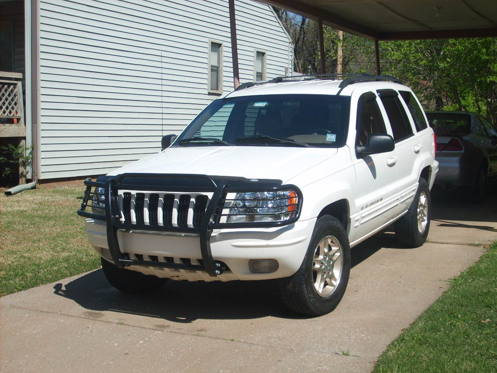 Jeep Grand Cherokee 1999 2004 Black Grille Guard Overstock 3346055