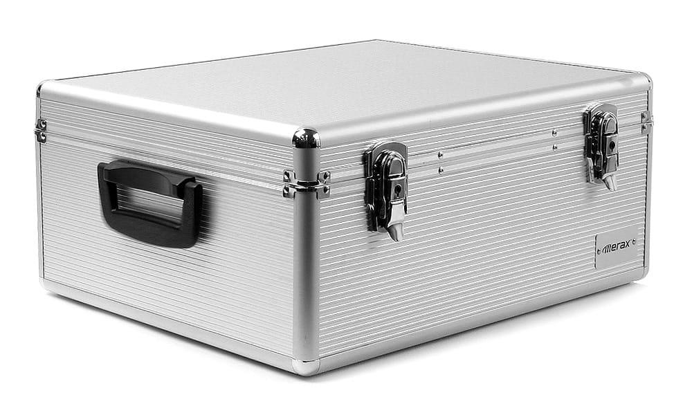 Aluminum Merax 600 Disc Cd Dvd Storage