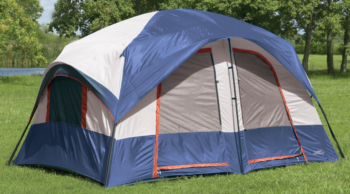 Shop Texsport Europa Two Room Cabin Tent Free Shipping