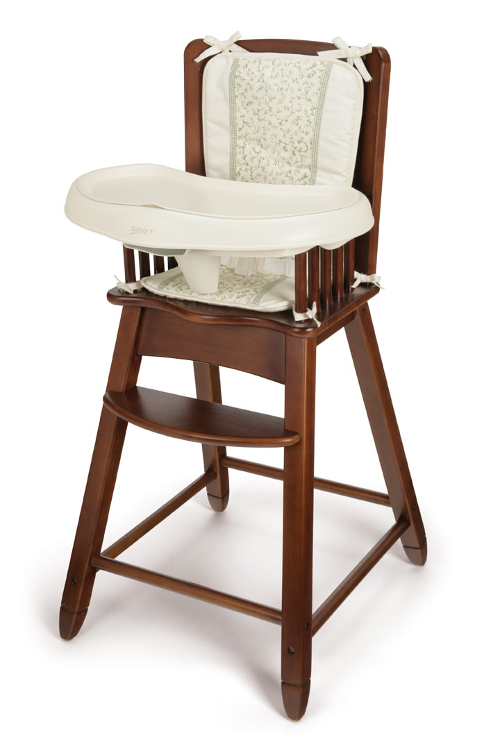 Safety First Vineland Solid Wood High Chair Free