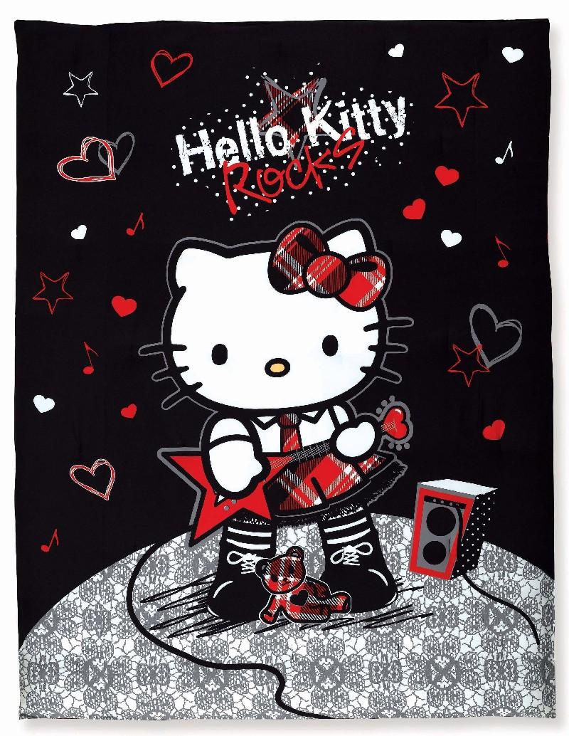 Hello Kitty 'Rocker' Full/ Queen Comforter Set