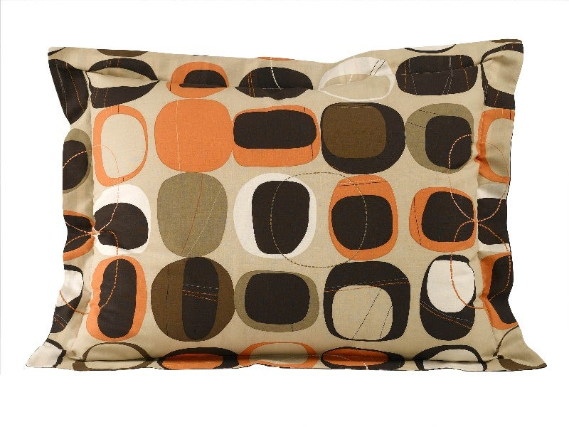 Opus Orange Bed in a Bag with Sheet Set - Thumbnail 1