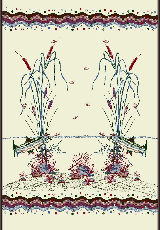 Cattails/ Pine Denali Blanket Throw - Thumbnail 1