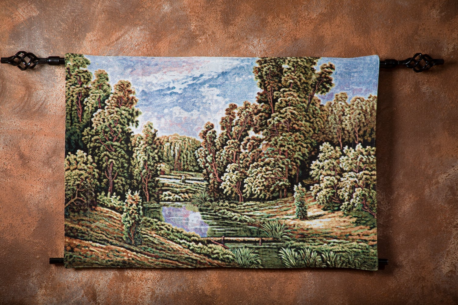 Beautiful Secluded Meadow Wall Art Tapestry - Thumbnail 1