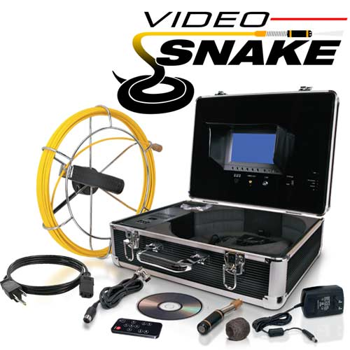 Video Snake Pipe and Wall Inspection System - Thumbnail 1