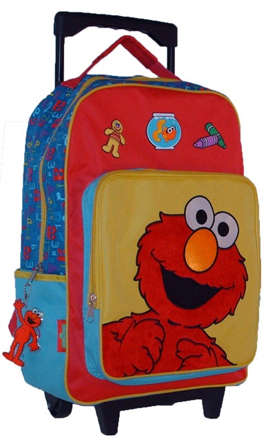 Elmo 12 Rolling Medium Backpack /& more
