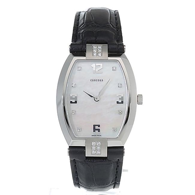 Concord La Scala Steel Women's Quartz Watch