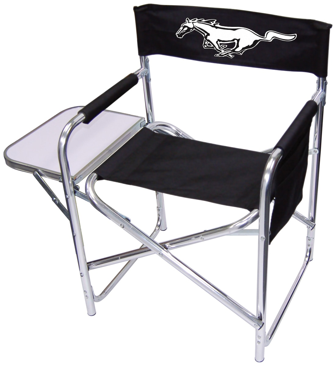 Mustang Logo Director Chair Free Shipping Today