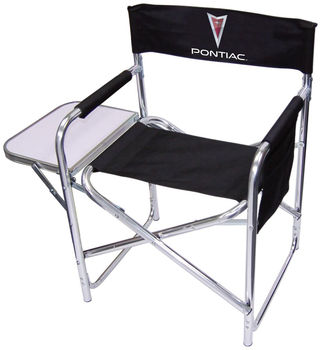 Pontiac Logo Director Chair