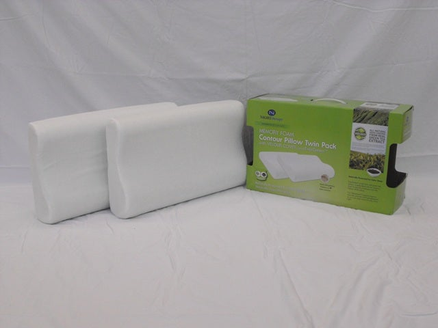 Evergreen Contour Pillow Twin Pack - Thumbnail 1