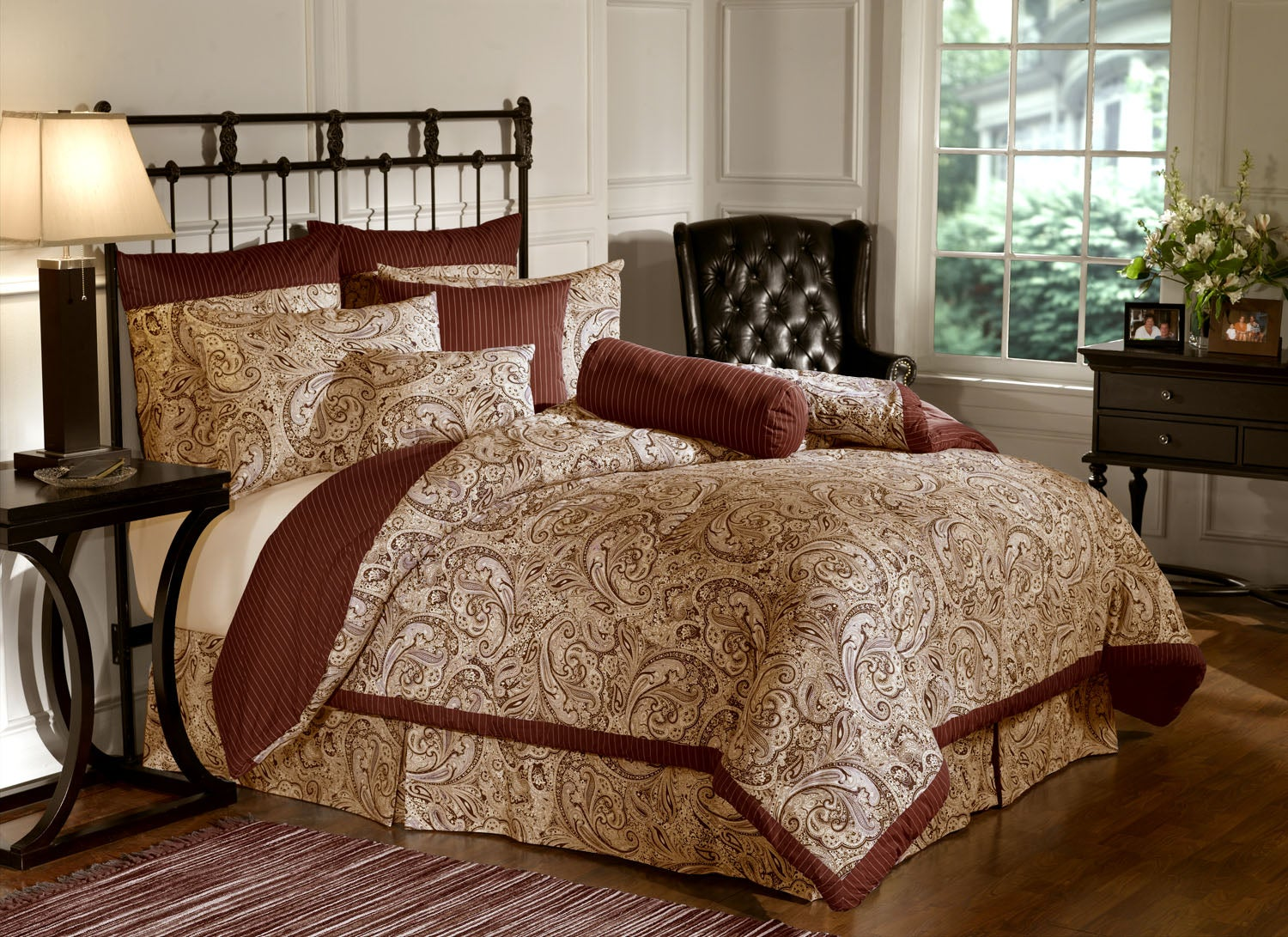 BILL BLASS 9PC BEDDING SET - Thumbnail 1