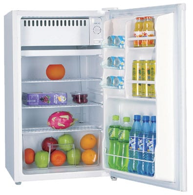 White 4.4-cubic-foot Compact Refrigerator - Thumbnail 1
