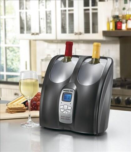 Waring Pro PC200FR Black Double Wine Chiller (Refurbished)