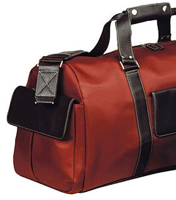 Biltmore Deluxe Rust 22-inch Fully Lined Spacious Carry-on Duffel Bag