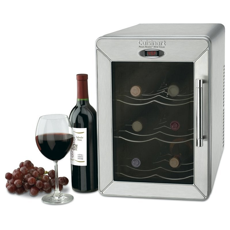 Cuisinart Cwc 600 6 Bottle Countertop Wine Cellar Free