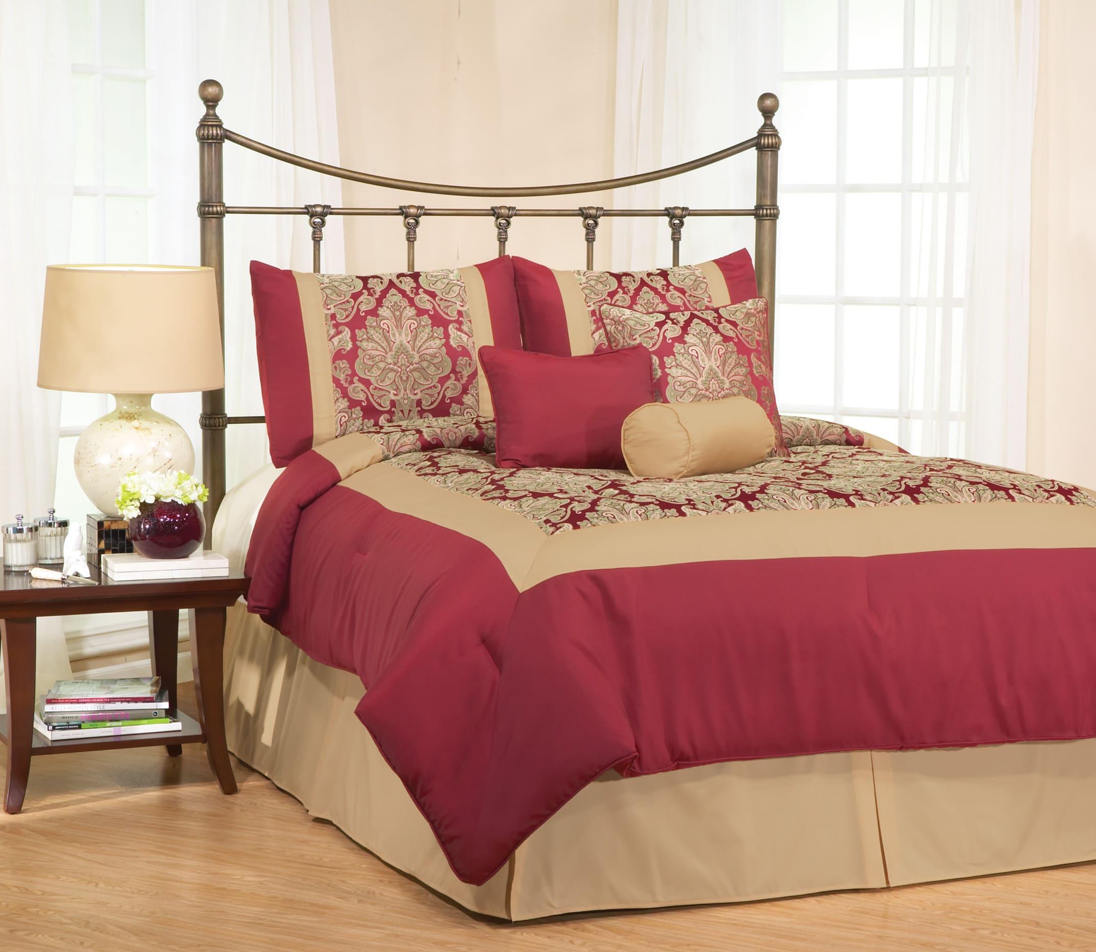 Barton 7-piece Jacquard Comforter Set - Thumbnail 1