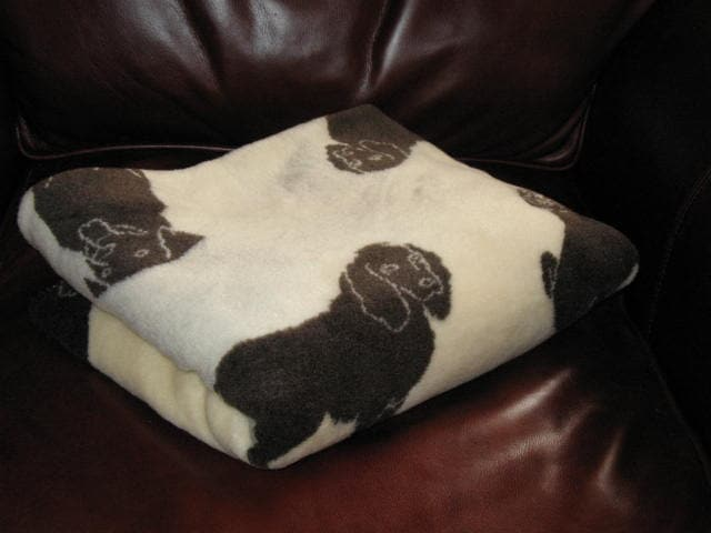 Dog's Life Acrylic Microplush Throw Blanket - Thumbnail 1