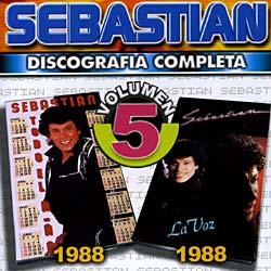 SEBASTIAN - VOL. 5-DISCOGRAFIA COMPLETA