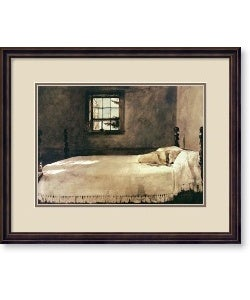 Andrew Wyeth Master Bedroom Framed Art Print Free Shipping Today 10498420