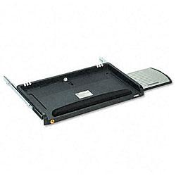 3M Adjustable Underdesk Keyboard Drawer with Gel Wrist Rest & Mouse Tray