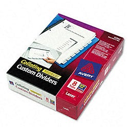 Avery 11992 Index Maker Clear Label Dividers