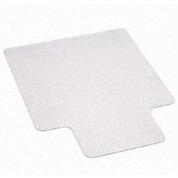 EconoMat Vinyl Studded No Bevel Chair Mat for Low Pile Carpet