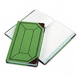 Esselte Pendaflex Record/Account Book with Green-and-Red Cover - 500 Pages