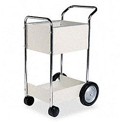 Fellowes Steel Mail Cart - 75 Folder Capacity