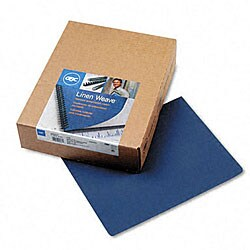 Binding Machine Linen Weave Covers (Case of 100 Sets)
