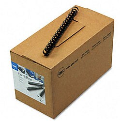 CombBind Black Plastic Binding Combs (Box of 100)