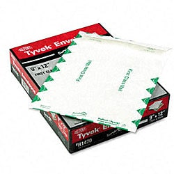 "DuPont Tyvek Catalog/Open End Envelopes (9"" x 12"") - 100 per Box"
