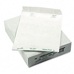 Water-Resistant DuPont White Leather Tyvek Envelopes - 100 per Box