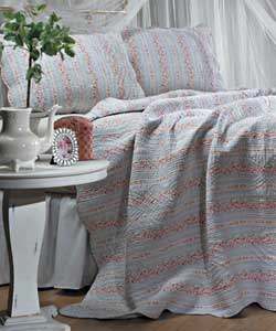 Trellis Quilted Bedspread - Thumbnail 0