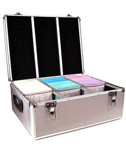 Disc Cd Dvd Aluminum Dj Storage Case