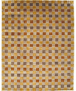 Nourison Hand-knotted Mandalay Multi Wool Rug (5' x 8') - Thumbnail 0