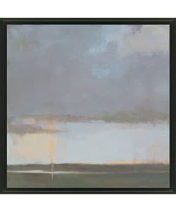 Gallery Direct Kim Coulter 'Violet Sky II' Framed Canvas Art