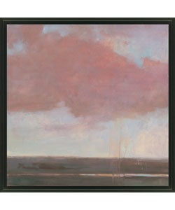 Gallery Direct Kim Coulter 'Scarlet Sky II' Framed Canvas Art