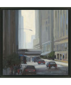 Gallery Direct Kim Coulter 'Downtown I' Framed Canvas Art
