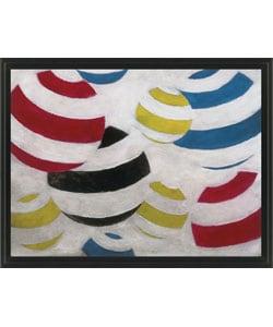 Gallery Direct M. Drake 'Spherical I' Framed Canvas Art