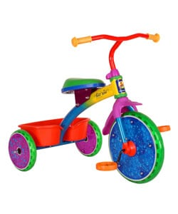 Kid Meteor Star Note Light-up Tricycle - Thumbnail 0