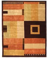 Safavieh Handmade Rodeo Drive Modern Abstract Multicolored Wool Rug - 7'6 x 9'6