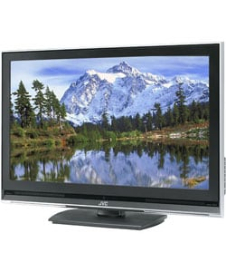 jvc 37 inch high definition flat panel lcd tv refurbished free shipping today overstock. Black Bedroom Furniture Sets. Home Design Ideas