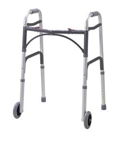 Drive Medical 2-button Folding Walker